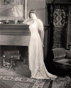 Eleanor Wilson, a principios de 1910