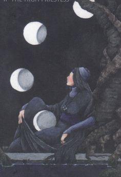 Anna K Tarot - High Priestess
