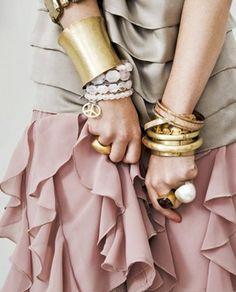 Bracelets bangles cuff rings
