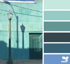 63 Ideas For Exterior Paint Colora Teal Design Seeds Exterior House Colors Combinations, Exterior Paint Colors, Paint Colors For Home, Exterior Design, Design Seeds, Color Harmony, Color Balance, Color Palette Challenge, Sea Glass Colors