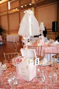 I love the centerpiece but I would probably change it up to a little boys shoe and blue colors for a baby boy.