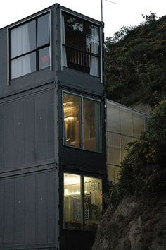 Shipping Container house Wellington New Zealand by petraalsbach, via Flickr