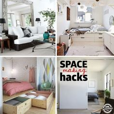 27 Genius Small Space Organization Ideas