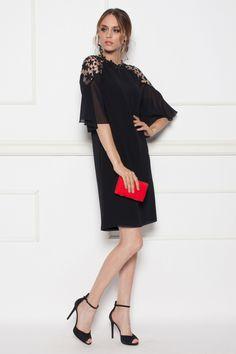 Midi dress with lace detail Lace Detail, Lace Dress, Cold Shoulder Dress, Dresses, Fashion, Vestidos, Moda, Fashion Styles, The Dress