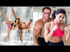 Jean Claude Van Damme Trained Daughter and Son in Martial Arts # FactoryDirect Krav Maga Kids, Learn Krav Maga, Krav Maga Techniques, Martial Arts Techniques, Taekwondo, Kickboxing, Muay Thai, Karate Shotokan, Full Contact
