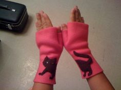 Simple Fingerless Gloves & Arm Warmers with Patterns