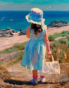 artist vladimir wolegow  #art #beach #child