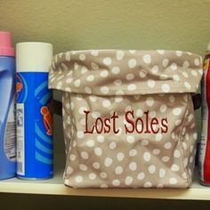 Utility bin is useful in laundry room--everyone has missing socks!! Get your usefulness at www.mythirtyone.com/peppy