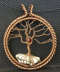 Tree of Life Pendant by RicciDesignsWireWrap on Etsy