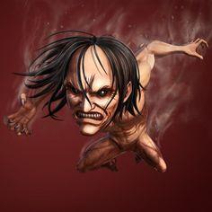 Attack on Titan- Ymir Ymir, Caleb, Attack On Titan 2, Demonology, Anime, Medieval, Fan Art, Cartoon, Manga