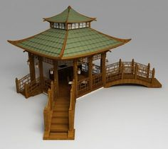 The Chinese pergola with bridges There exists almost no time including this current to make Japan Architecture, Chinese Architecture, Futuristic Architecture, Pavilion Architecture, Architecture Office, Sustainable Architecture, Residential Architecture, Contemporary Architecture, Japanese Style House
