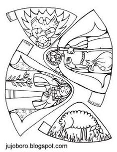 Christmas Nativity Bible Coloring Page Preschool Christmas, Christmas Nativity, Christmas Activities, Christmas Crafts For Kids, A Christmas Story, Christmas Colors, Holiday Crafts, Christmas Holidays, Bible Story Crafts