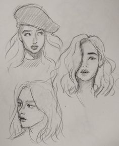 Drawing techniques, step by step sketches, art sketches, fashion sketches, Pencil Art Drawings, Art Drawings Sketches, Drawing Faces, Cute Drawings, Drawing Girls, Horse Drawings, Face Pencil Sketch, Animal Drawings, Sketches Of People