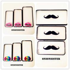 Movember  Mustache Beard iPhone Case 5 | Sexy Lips iPhone Case 6 | Rainbow Lips iPhone Case 6 Plus | Cute iPhone Case | Unique iPhone Case by OnionSister on Etsy