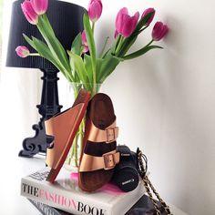 Stenmarked - www.stenmarked.com - @zoestenmark #copper #birkenstocks #tulips #fashionbook #cartier #canon