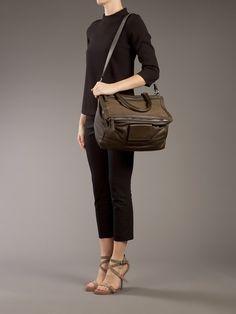 Givenchy Pandora Bag in Brown (khaki) - Lyst Pandora Bag 31c6873254def
