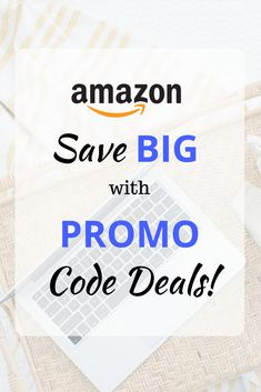 Amazon Promo Code Deals - Check out my updated list of Amazon Promo Code Deals! There are lots of great deals up to 50% off!  via @moneywisesteward