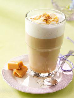 Milchkaffee mit aromatischer Süße: Kaffee Caramello