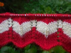 Two Color Knitting Pattern | Knitting Pattern | Kiran The Knitter - Knitting Patterns