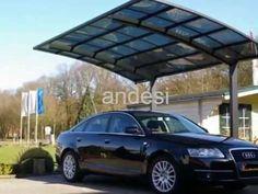 ideal car parking-modern design aluminum carport