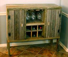 Liquor Cabinet by TheHighlandHouse on Etsy, $225.00