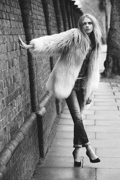 Cara Delevingne For Pepe Jeans: July 2013