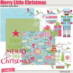 Merry Little Christmas Collection Super Mini