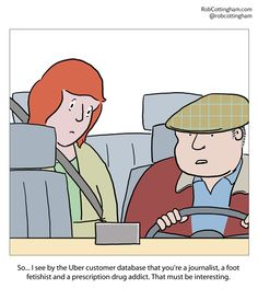 Uber and privacy: a pretty bumpy ride.
