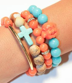 coral crush stack