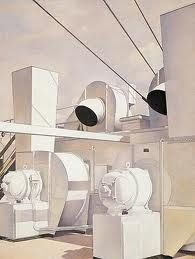 THE PRECISIONISTS charles sheeler / upper deck / 1929 / oil on canvas