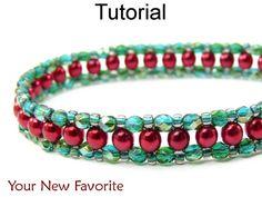 Bead Patterns Beaded Bracelet Tutorials Right Angle Weave