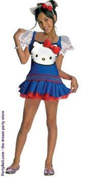 Hello Kitty Blue Dress Child Costume $28.82