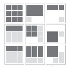 How Grid Layouts Can Greatly Improve Your Designs - Designlösungen Grid Graphic Design, Graphic Design Layouts, Grid Design, Brochure Design, Magazine Layout Design, Book Design Layout, Easy A, Architecture Portofolio, Architecture Panel