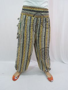 Hippie Harem Trouser Gypsy Pants Romper Maternity by Labhanshi, $20.00