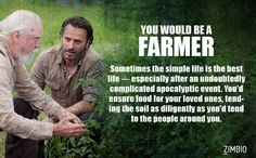 I would be a Farmer in a post-apocalypse society. What would you be?