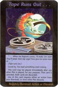 Bildergebnis für when the rapture comes Illuminati card game