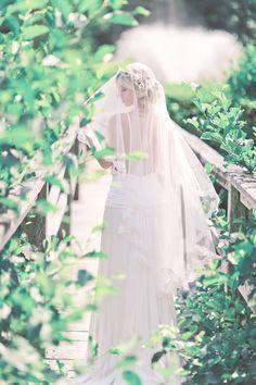 English Garden Bridal Inspiration Shoot