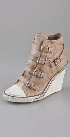 02b1109a10bd Ash Thelma Wedge Sneakers Sneaker Heels