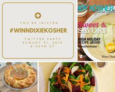 #WinnDixieKosher. It's a Twitter Rosh Hashana Party and you are invited! Win prizes!