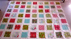 Christmas Quilt! modern quilt