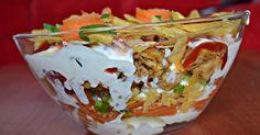 Hit imprezowy ! :) Przepis od Bieniaszki z moimi małymi zmianami :)  Składniki: 3 jajka 2 marchewki pęczek szczypiork...