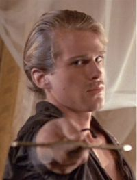 You mean, you'll put down your rock and I'll put down my sword, and we'll try and kill each other like civilized people?  Cary Elwes  Man in Black