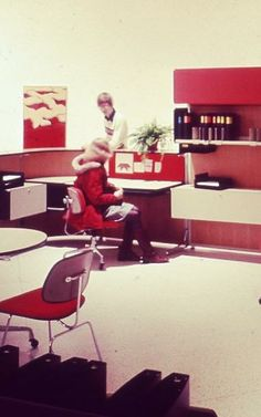 11 Amazing Vintage Herman Miller Offices / FastCoDesign | #workspaces  #socialvintage
