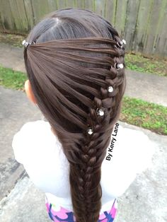Side Feathered Braid