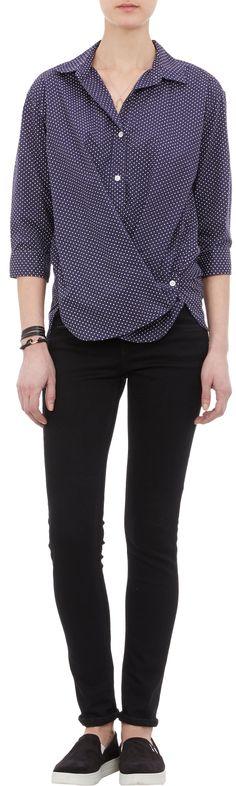 Steven Alan Polka Dot-Print Shirt at Barneys.com Polka Dot Print, Polka Dots, Steven Alan, Personal Style, Apparel Clothing, Fashion Outfits, Suits, Elegant, Blouse