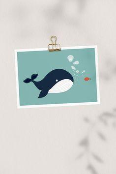 Nasze plakaty będą niebanalną dekoracją każdego wnętrza. Whale, Poster, Accessories, Whales, Billboard, Jewelry Accessories