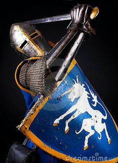 Knight attacking