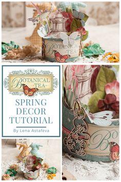 [Video Tutorial] Spring Home Decor Featuring Botanical Tea  To celebrate Spring we have a #SimplyG45 Spring Home Decor video tutorial by the one and only, Lena Astafeva.  Graphic 45