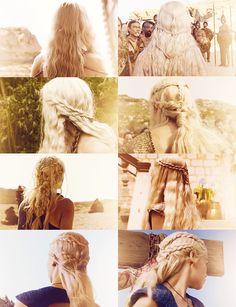 Daenerys Targaryen hair appreciation post