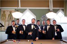 tonya beaver photography; jacksonville wedding photographer; jacksonville beach wedding photographer; st augustine wedding; groomsmen pool table